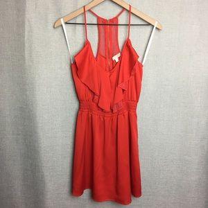 GB/ Spaghetti Strap Mini Dress w/Lace Details Sz M